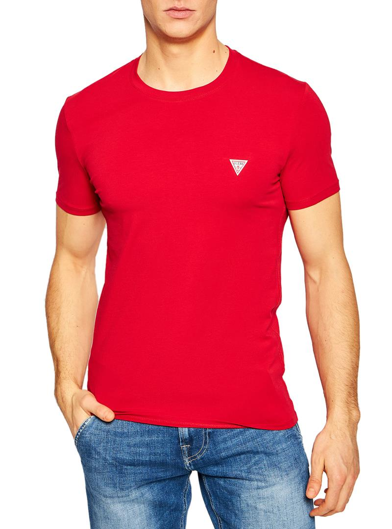 T-SHIRT SUPER SLIM GUESS | T-shirt | M1RI24J1311TLRDRED