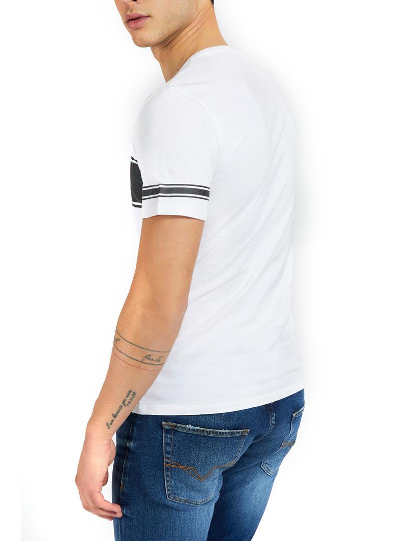 T-SHIRT STAMPA FRONTALE GUESS | T-shirt | M1RI56K8HM0S07FWHITEBLACK