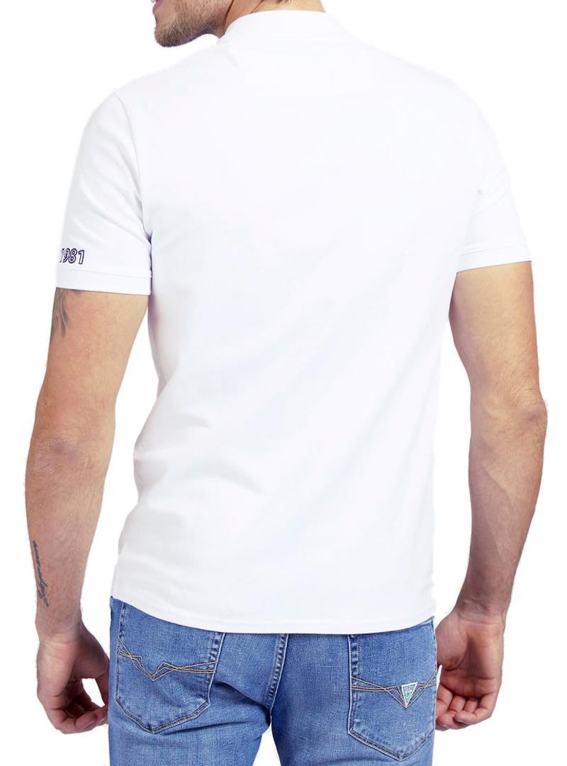 T-SHIRT LOGO FRONTALE GUESS | Polo | M1RP54K7O61A000WHITE