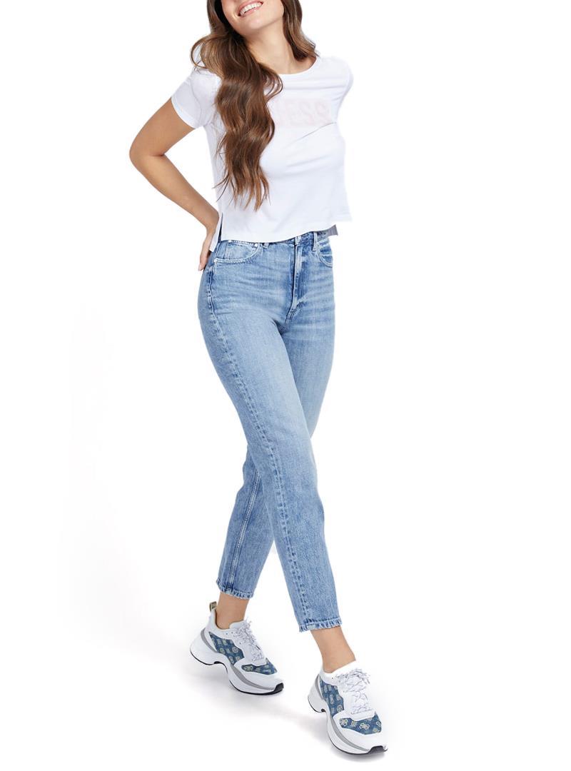 T-SHIRT LOGO FRONTALE GUESS   T-shirt   W1RI05JA900A000WHITE
