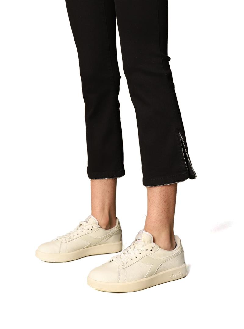 JEANS 5 TASCHE CROPPED LIU JO BLUE DENIM | Jeans | UA1069D418887177DENBLACK