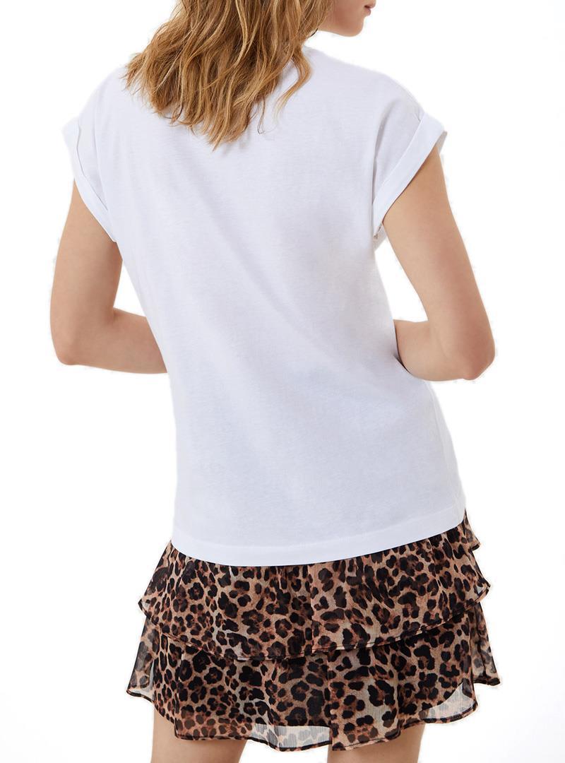 T-SHIRT CON LOGO LIU JO JEANS | T-shirt | WA1327J009411111BIANCOOTTICO