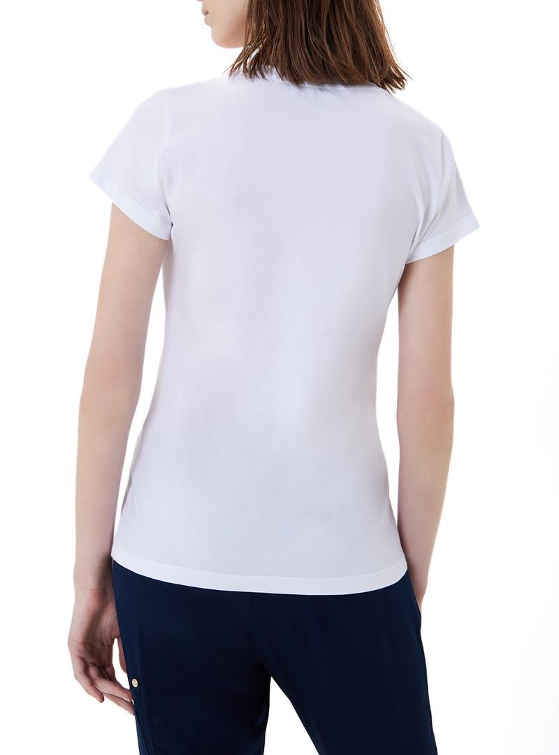 T-SHIRT CON LOGO LIU JO SPORT | T-shirt | TA1155J500311110BIANCO