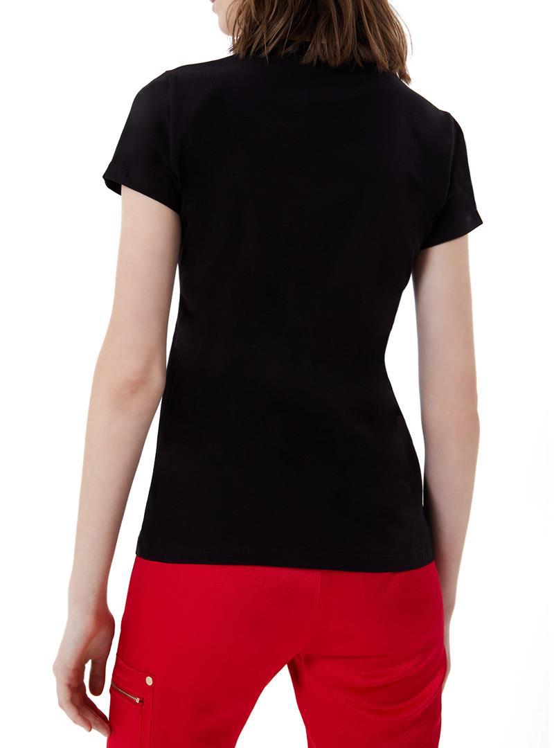 T-SHIRT CON LOGO LIU JO SPORT   T-shirt   TA1155J500322222NERO