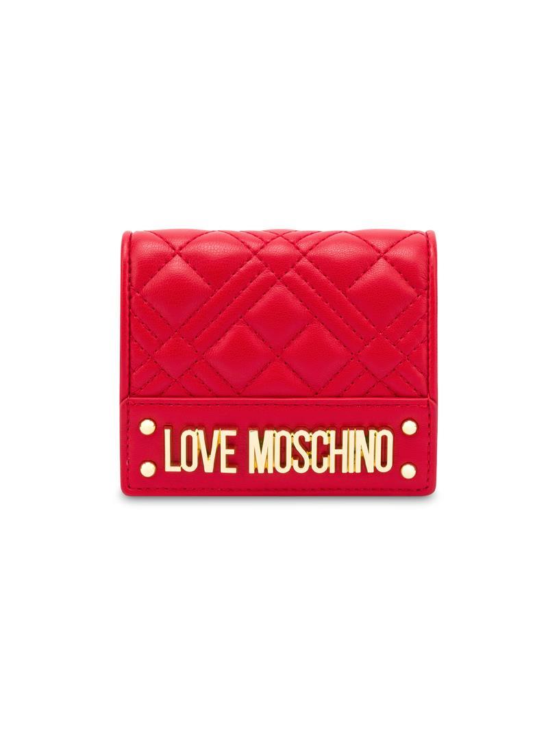 PORTAFOGLIO TRAPUNTATO SMALL LOVE MOSCHINO | Portafoglio | JC5601PP1CLA0500ROSSO