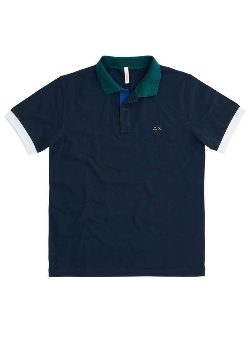 POLO 3 COLOR WAY EL SUN68 | Polo | A3111207NAVYBLUE