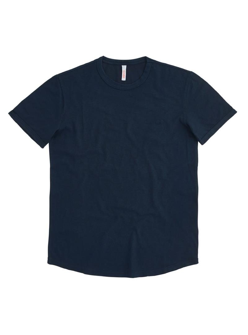 T-SHIRT ROUND BOTTOM SUN68 | T-shirt | T3111007NAVYBLUE