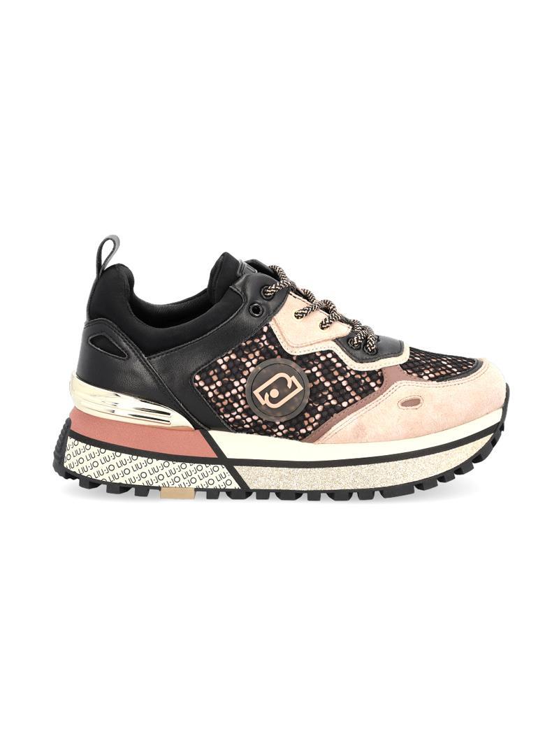SNEAKERS IN MESH E RASO STAMPATO LIU JO SPORT | Sneakers | BF1071TX203S19C1LEOP