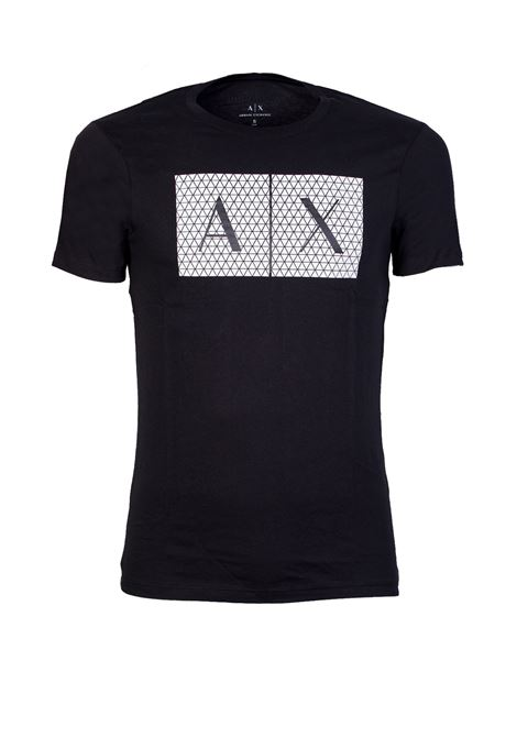 T-SHIRT CON LOGO AX ARMANI EXCHANGE | T-shirt | 8NZTCKZ8H4Z1200BLACK