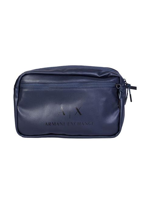 MARSUPIO CON LOGO AX ARMANI EXCHANGE | Marsupio | 9520928P20051535BLUEBLACK