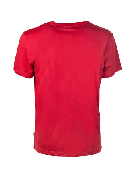 T-SHIRT CON LOGO FRONTALE CALVIN KLEIN | T-shirt | K10K101973-JALO7659REDDAHLIA