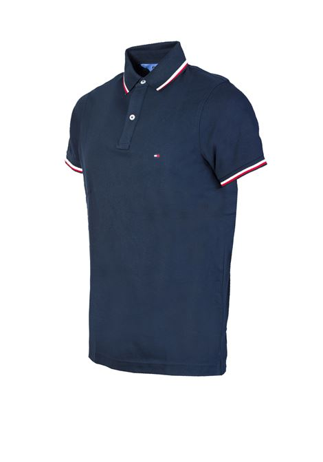POLO BASIC TOMMY HILFIGER | Polo | MW0MW05157-TOMMY403SKYCAPTAIN