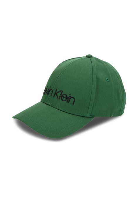 CAPPELLO EMBROIDERY CALVIN KLEIN | Cappello | K50K504106-LOGO312GRASSGREEN
