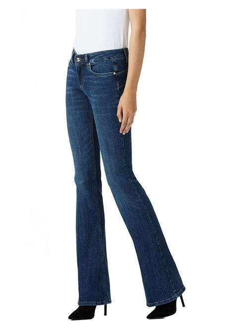 JEANS BOTTOM UP CON VITA MEDIA LIU JO BLUE DENIM | Jeans | U68019D412777411DENBLUEEVENTWASH