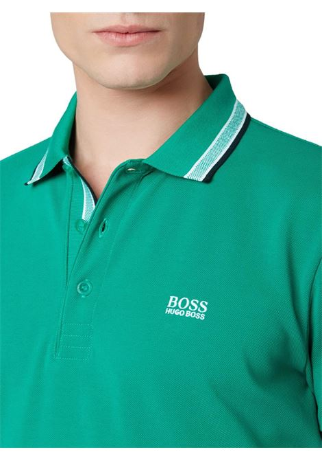 POLO CON LOGO BOSS | Maglia | 50398302PADDY349OPENGREEN