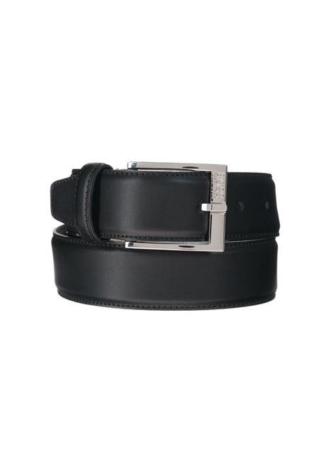 CINTURA CON FIBBIA BOSS | Cintura | 50385849ELLOTYOSZ35001BLACK