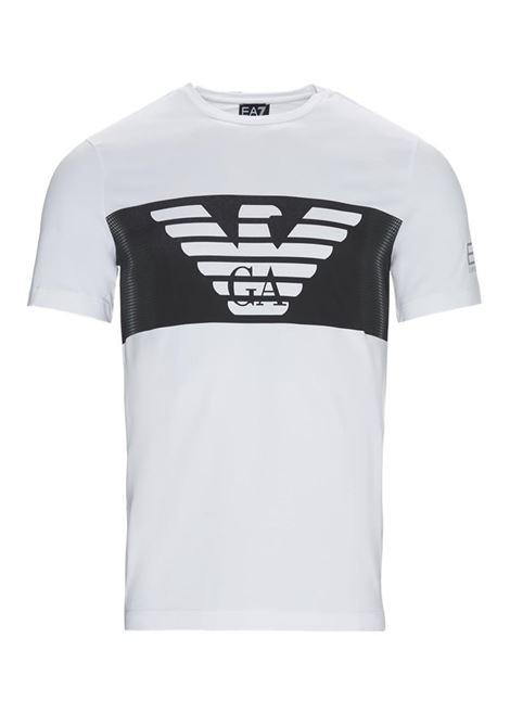 T-SHIRT BIANCO E.A. 7 | T-shirt | 6GPT56PJQ9Z1100WHITE