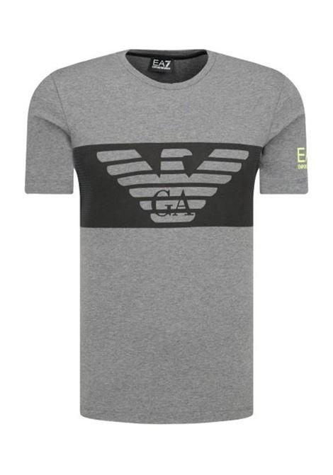 T-SHIRT GRIGIA E.A. 7 | T-shirt | 6GPT56PJQ9Z3925DARKGREY