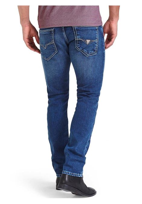 JEANS EFFETTO USED GUESS | Jeans | M94AN1D3T72MET1METRO