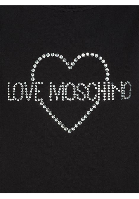 ABITO IN FELPA STRETCH LOVE MOSCHINO | Abito | W5B1102E1958C74BLACK