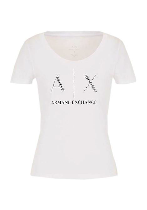 T-SHIRT WHITE AX ARMANI EXCHANGE | T-shirt | 8NYT83YJ16Z1000OPTICWHITE