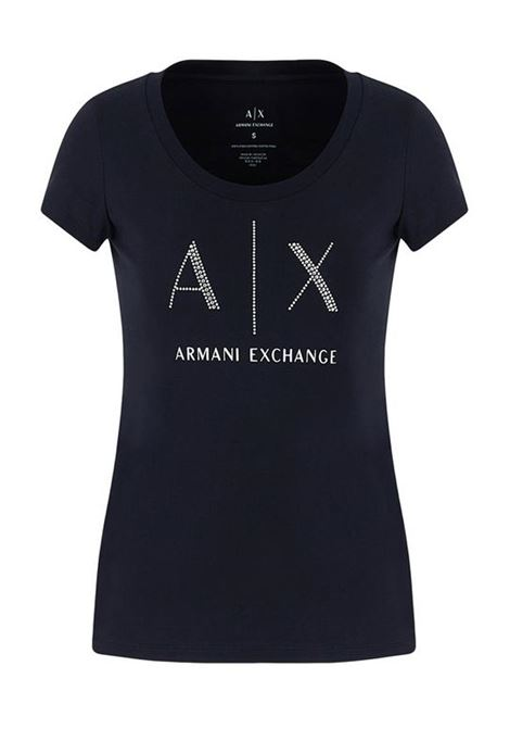 T-SHIRT NAVY AX ARMANI EXCHANGE | T-shirt | 8NYT83YJ16Z1510NAVY