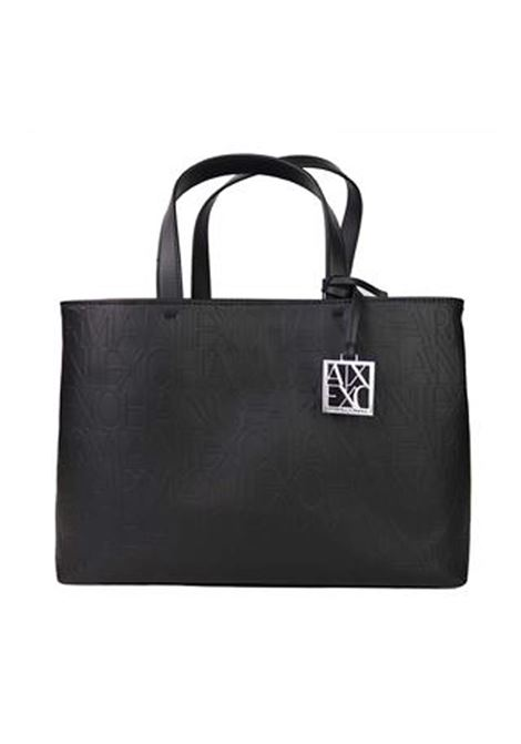 SHOPPING BAG AX ARMANI EXCHANGE | Borsa | 942646CC79300020BLACK