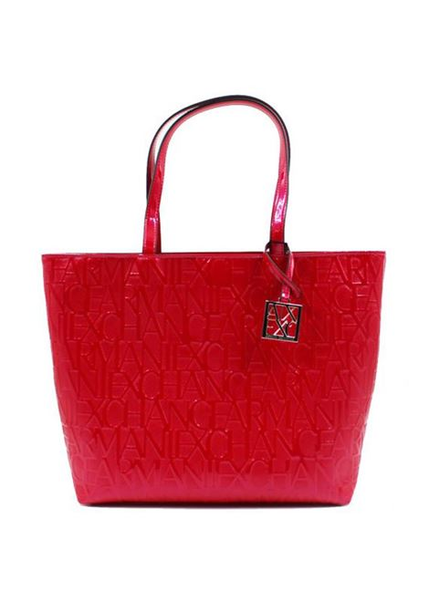 BORSA A SPALLA OPEN MEDIUM AX ARMANI EXCHANGE | Borsa | 942650CC79300074ROSSO