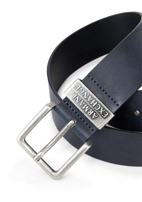 CINTURA CON LOGO AX ARMANI EXCHANGE | Cintura | 951186CC52800134BLU