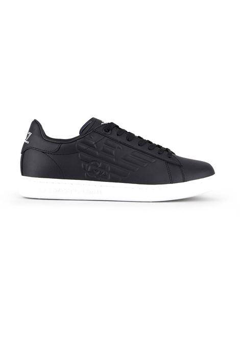 SNEAKERS CC CON LOGO IN RILIEVO E.A. 7 | Sneakers | X8X001XCC5100002BLACK