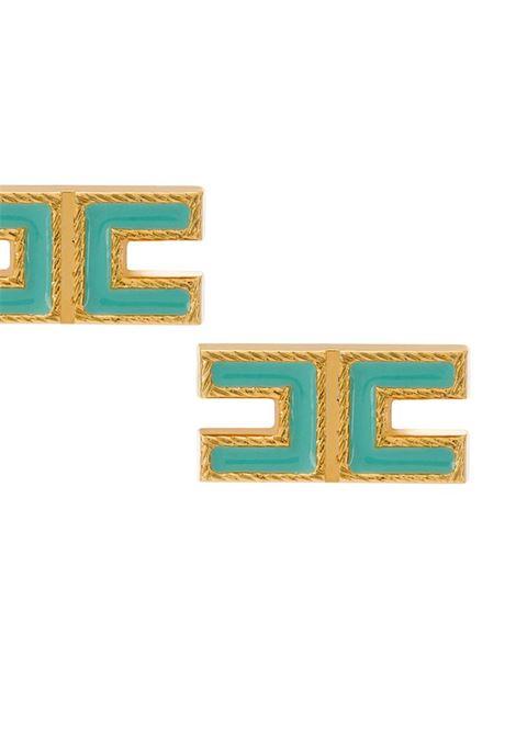 ORECCHINI A LOGO ELISABETTA FRANCHI | Orecchini | OR34B01E2Y04TIFFANY