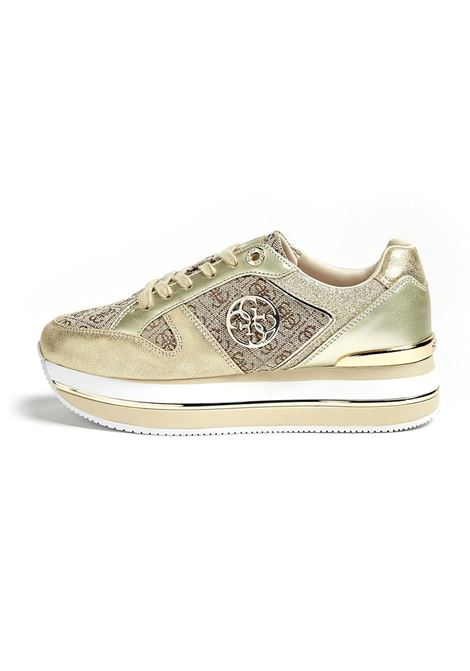 SNEAKERS DEALY ACTIVE GUESS | Sneakers | FL5DLYFAL12BEIBRBEIGEBROWN