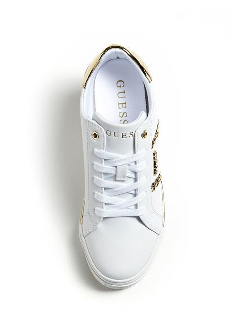 GUESS |  | FL5FAYELE12WHIGOWHITE&GOLD