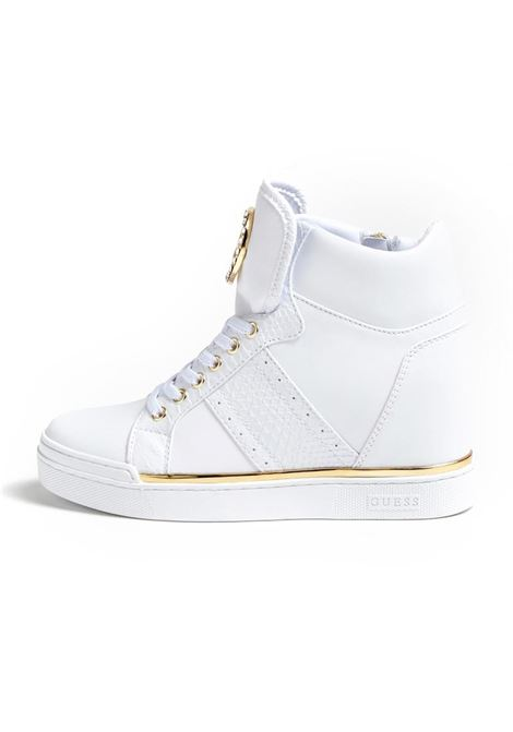 SNEAKERS ALTA FRETTA GUESS | Sneakers | FL5FREELE12WHITE