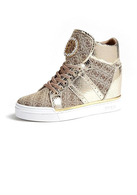 SNEAKERS ALTA FREETA GUESS | Sneakers | FL5FREFAL12BEIBRBEIGEBROWN
