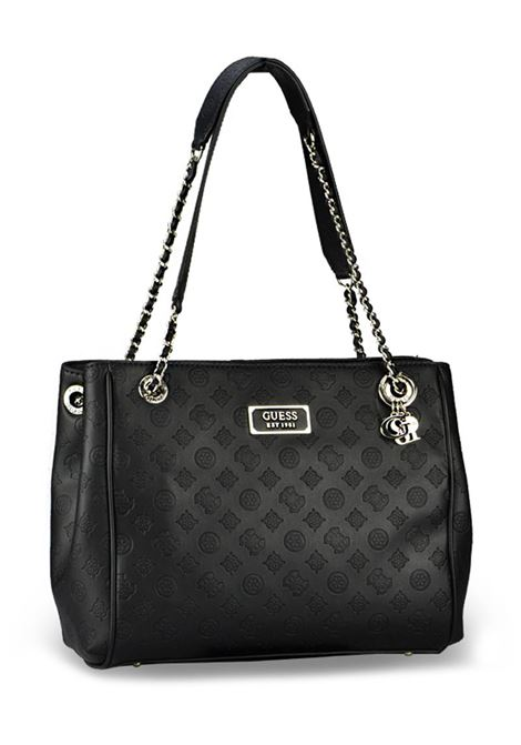 BORSA LOGO LOVE GIRLFRIEND GUESS | Borsa | HWSG7662230BLACK