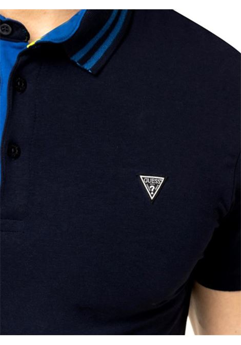 POLO AMIAS SS GUESS | Polo | M01P45J1300G720BLEUNAVY