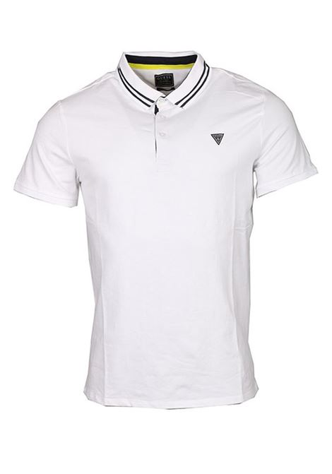 POLO AMIAS SS GUESS | Polo | M01P45J1300TWHTBLANCPUR