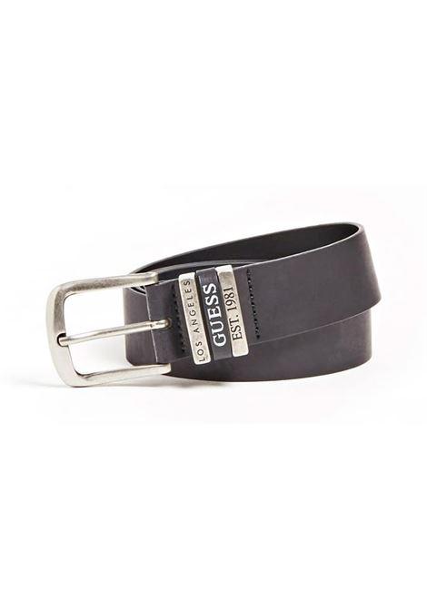 CINTURA TRIPLE LOOP GUESS | Cintura | M0GZ54L0NL0JBLKBLACK