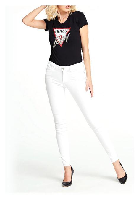 T-SHIRT LOGO ICON GUESS | T-shirt | W01I20J1300JBLKBLACK