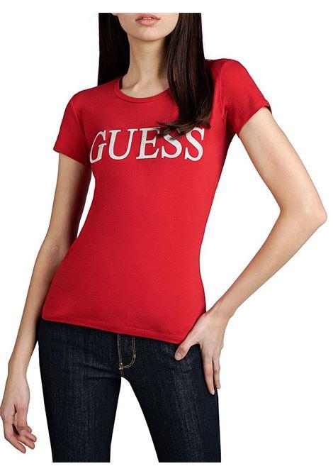 T-SHIRT LOGO FRONTALE GUESS | T-shirt | W01I74J1300G6U2CRAVOS