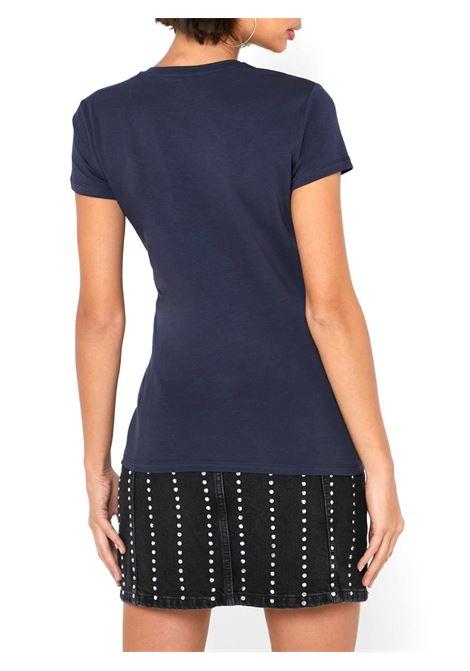 T-SHIRT LOGO FRONTALE GUESS   T-shirt   W01I74J1300G720BLEUNAVY