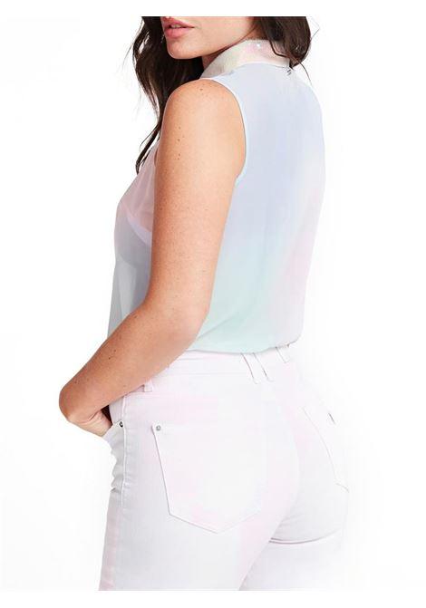CAMICIA SL CLOUIS GUESS | Camicia | W0GH0DW70Q0P57CRAINBOWCOMBO
