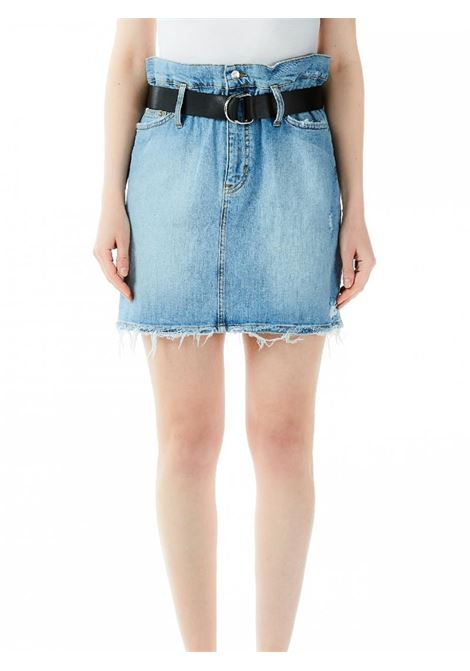 GONNA MINI CANDY JEANS LIU JO BLUE DENIM | Gonna | UA0076D444178019DENBLUEBELT