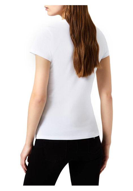 T-SHIRT DISNEY CON STRASS LIU JO JEANS FASHION | T-shirt | FA0387J5904T9035BIANCOOTTHOTFIX