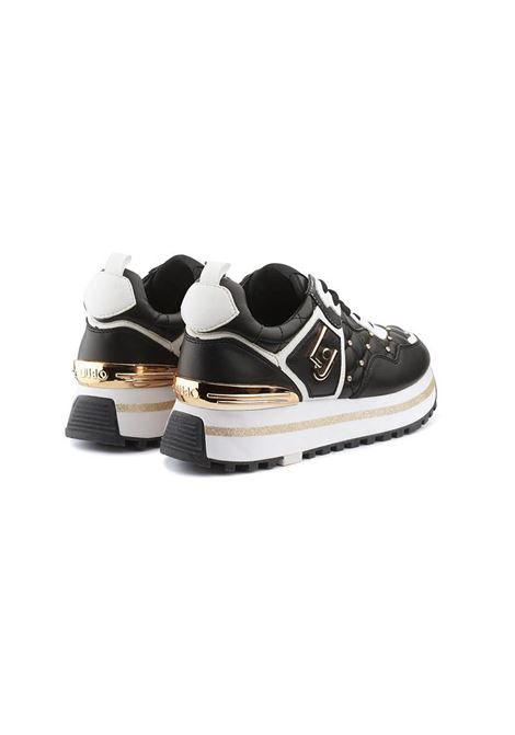 SNEAKERS PLATFORM MATELASSÉ LIU JO SHOES | Sneakers | BXX051EX01422222BLACK