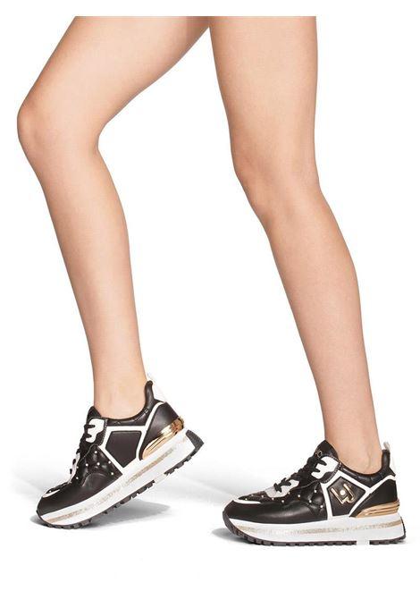SNEAKERS PLATFORM MATELASSÉ LIU JO SHOES | Sneakers | BXX051EX01422222BLACK