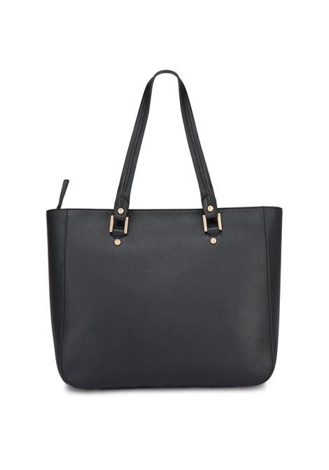 SHOPPING BAG CON CHARM LIU JO | Borsa | AA0006E008722222NERO
