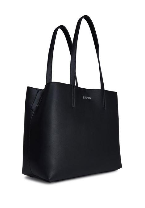 SHOPPING BAG LIU JO | Borsa | AA0149E0503U9732NEROBOUCHE