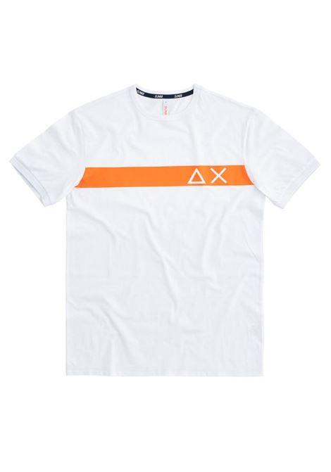 T-SHIRT MACRO LOGO SUN68 | T-shirt | T3010601BIANCO